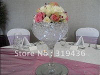 2012 Hot sale!!! high transparent/ clear crystal water beads for cut flower arrangement
