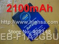 2100mAh EB-F1A2GBU / EB F1A2GBU High Capacity Battery Use for Samsung I9103 I9100 I9108 Galaxy S2 etc Mobile Phones