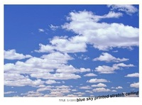 S-12015 sky printing stretched ceiling film