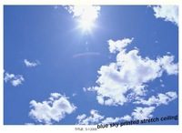 S-12009 sunshine in the sky soft stretch ceiling film