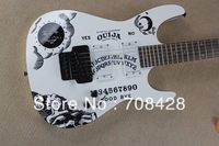 neck through 1pc wood HOT free shipping ouija electric guitar in stock for promotion
