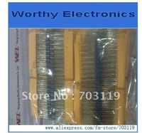 2400pcs/lot  Precision resistor package 1/4W Colored ring Metal film Resistance 120Kind  20pcs/Kind 0.5R-10M