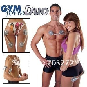 Freeshipping!10pcs/lot Gymform Duo technologie 4 muscles massager  As seen on TV !