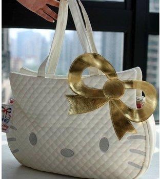 Free Shipping!  Hot Sale of Hello Kitty, the Fashion Handbag / Lovely handbag / lady 's handbag.