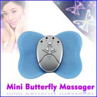 2pcs/lot Mini Losing Weight Slimming Butterfly Massager Cheap Body Arm Leg Muscle Massage