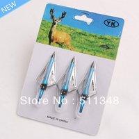 free shipping wholesale new 6pcs/set steek arrow shooting hunting board heads aftershock  arrows