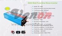 HOT! 6000W/6KW 24V dc to 220V/240V ac Pure Sine Wave Power Inverter (12kw/12000w peak power) Free shipping