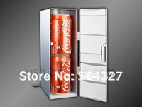 Free shipping 1Piece Two cans USB Fridge Shaped USB Cooler and Warmer USB Refrigerator