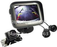 Car RearView Parking System - Camera - Color Monitor - Sensors