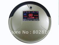 2012 New Brand Li-ion Battery Big LCD Screen and Big Rubblishi Box 1L3 In Multifunction Intelligent Vacuum Cleaner