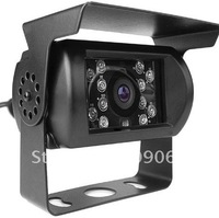 Wired 1/3 Inch Color CCD Car Rearview Camera - PAL