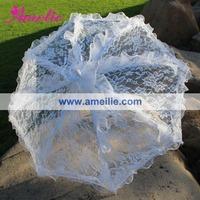 Free Shipping Wedding Lace Umbrella