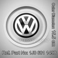1 PCS VW WHEEL CENTER HUB CAP Volkswagen Logo JETTA BORA GOLF MK4 1999-2004 Replace VW 1J0 601 149B Brand New Free Shipping
