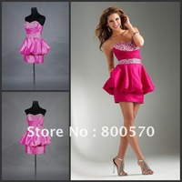 New Coming Real Picture Mini Short Lace Up Cocktail Party Dress