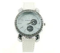 9346 Portable Wrist Watch (White).women's watch.men's watch,Unisex watch.free shipping