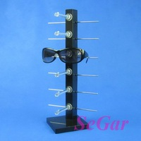 Free Shipping High Quality Sunglass Display Stand Holder For 6 Pairs 120329SS-02