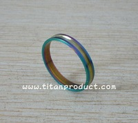 Titanium Spacer For Bicycle 5mm (Rainbow Colour)