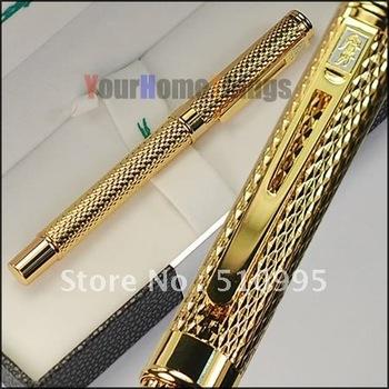 Crocodile 218 executive complete golden raised roller ball pen