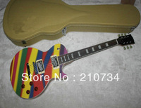 Wholesale -New arrival Custom Shop multicolour Standard Classic VOS Electric Guitar /With Case