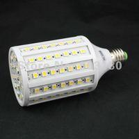 2012 hot Pure/ warm white Spotlight SMD 5050 102LEDs 1800 LM  E27/E14 AC220V or 110V 18W LED 5050 SMD light 10pcs fast shipping