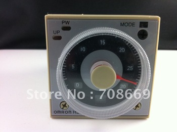 1Set base+ OMRON Multifunctional Time Timer relay H3BA-N8H 8PIN 2NO 2NC AC110V
