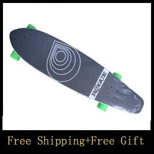 O envio gratuito de 42 '' duplo deformado quatro rodas Longboard Longboard completo Sector 9 Longboard skate(China (Mainland))