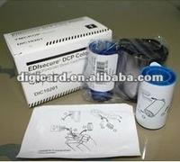 EDIsecure DIC10201 color ribbon for DCP240+ printer YMCKOP