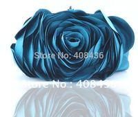 Hot 2014 Evening Bag , Flower Bride Bag Purse , full dress Party handbag Wedding Clutch Women Evening Purse Lady Gift EB034