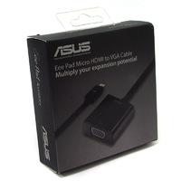 New Arrival-Genuine Micro HDMI to VGA Adapter for ASUS Eee Pad Transformer TF201/TF300T / TF700T free shipping