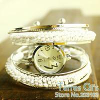 10pcs/lot Promotional Jewelry Bangle bracelet wrist fashion Quartz watch Women's Dress watch Ladies