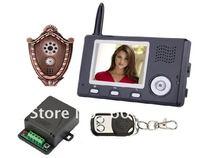 """3. 5 """" Wireless Video Door Phone with Automatic Door Opener"""