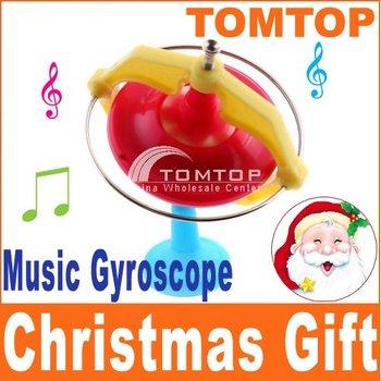 Magic Music Gyroscope Toy Gyro With LED 10pcs/lot Freeshipping Dropshipping wholesale