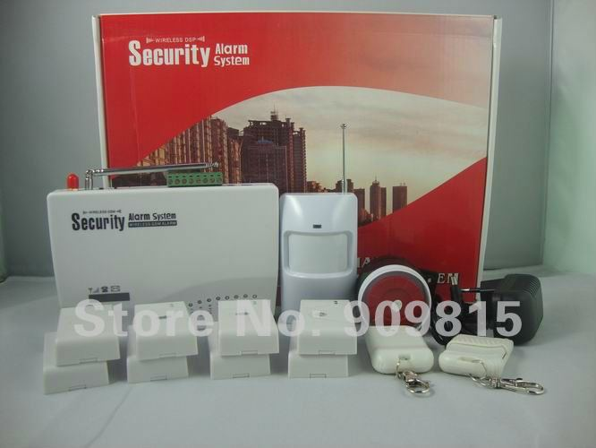 2012 HOT SALES GSM Security Burglar Alarm System With Economic Price &amp; Good Quality SK-G10S-3(China (Mainland))
