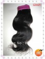 Free shipping virgin brazilian hair extension,virgin body wave hair ,12inch 1pcs/lot  color:1B 1# 2#