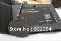 On Sale order Free Shipping 10pcs/lot  2800-3000cc Ion Energy Quantum Scalar Pendant Energy Card And Pendant
