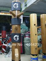 Free shipping!new upgraded wing chun wooden dummy Head Pads,Sheath,Muk Yan Jong ,Mook Yun Jong protecting bush,3pcs/set