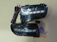 Free ship!2003~2008 MAZDA 6(Don't fit 2011) LED daytime running light,2pcs/set+wire of harness,6000~7000K,15W 12V, good quality