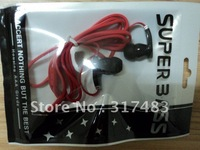 1000pcs/lot,hot ! hot !!  Fashion In-Ear Earphone  with package bag for MP3player MP4 player Headphone,free Shipping
