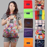 Japan BAGGU Shopping bag only 15pcs/lot min-order,many colors available eco reusable folding hand handle Bag + free shipping