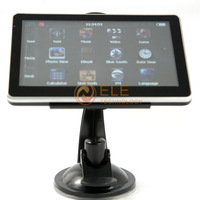 5 inch Car GPS Navigator without Bluetooth build in 4GB memorey