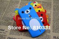 New Cartoon Rilakkuma Lazy Bear Soft Back Case for Sony Ericsson Xperia Neo V MT15I MT11I, With Retail Package,1pcs