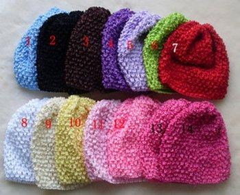fashion elastic baby headband and baby hat