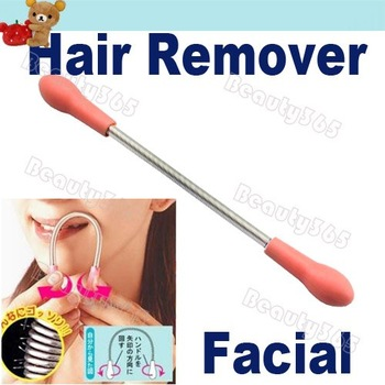 New Facial Threading Epistick Epilator Spring Hair Remover Removal Stick 726
