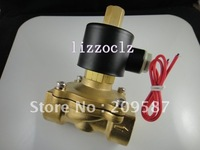 "Normal Open 2way2position 220V AC 1/2"" Electric Solenoid Valve Water Air N/O"