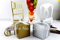 Best selling! EMS Free shipping! 200 pcs/lot Chair candy box favorite boxes, chocolate box . Retail/wholesale