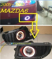 Free ship!2005~2010 MAZDA 6 55/35W HID Xenon/halogen Fog Lamp with projector lens+wire of harness,HID BULB,slim ballast,CCFL,