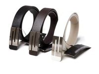 Faux Leather S Shape Metal Buckle Belt for men and women,Free shipping,hot PYP002