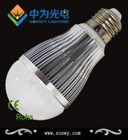 2 year warranty  560lm 12leds 6w led inductive bulb