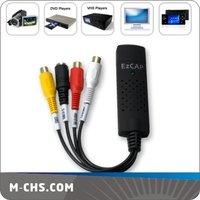 5pcs free shipping USB Capture Device DV Video TV VHS DVD Maker Ulead