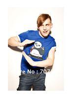 Free Shipping AND Crazy price  2012 Summer New MENS Kung Fu Panda T Shirt  Guys Tee Top M